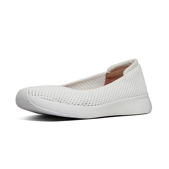핏플랍 에어메쉬 플랫슈즈 FitFlop AIRMESH Ballet Flats,Urban White