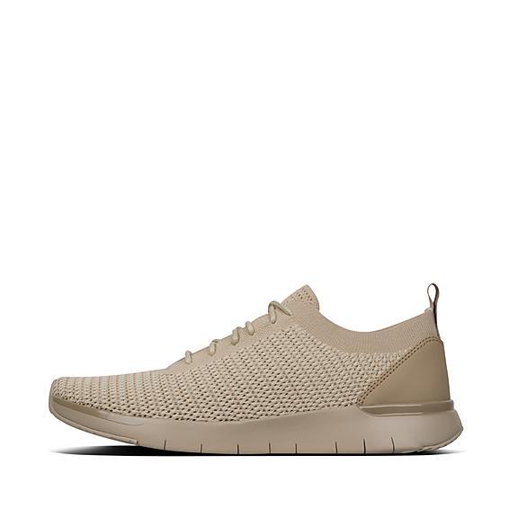 핏플랍 FitFlop FLEXKNIT Sneakers,Light Sand