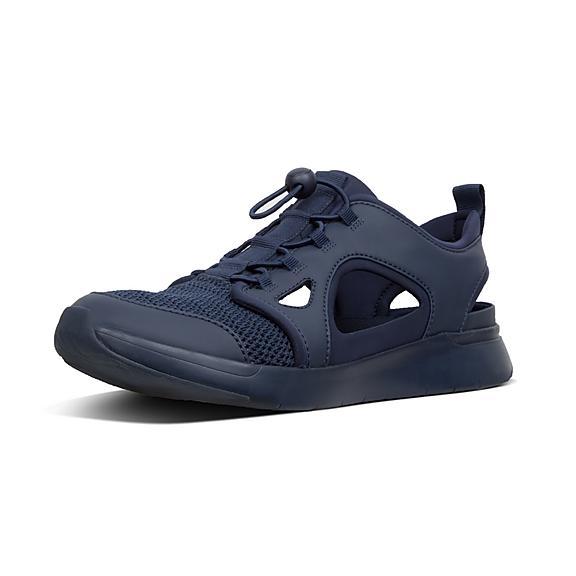 핏플랍 FitFlop HOLLIS Cut-Out Sneakers,Midnight Navy
