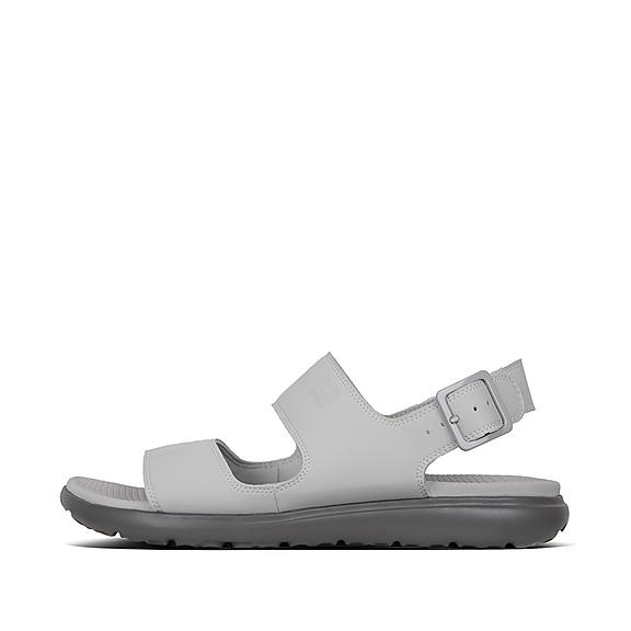 핏플랍 FitFlop LIDO II Neoprene Back-Strap Sandals,Light Gray