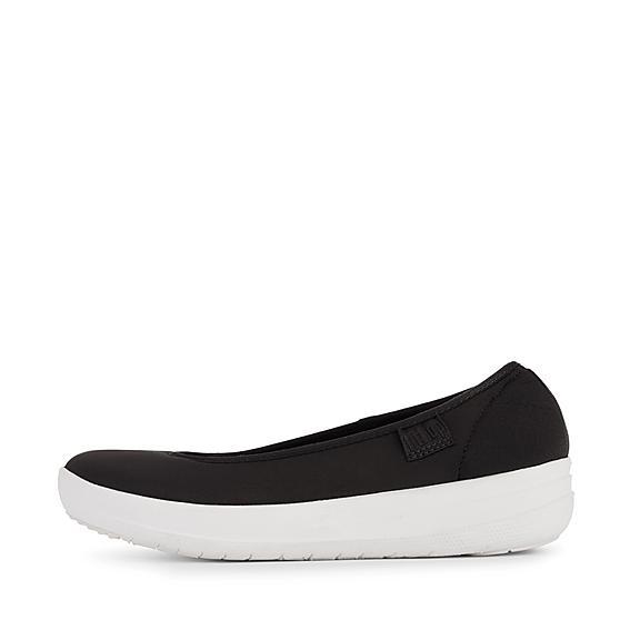 핏플랍 FitFlop RACHEL Mesh Ballet Flats,Black