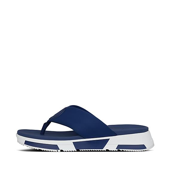 핏플랍 FitFlop SPORTY LOGO Toe-Thongs,Midnight Navy