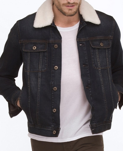 The Shearling Dart Jacket