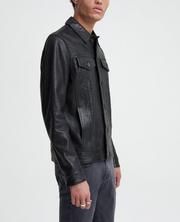 The Kent Leather Trucker