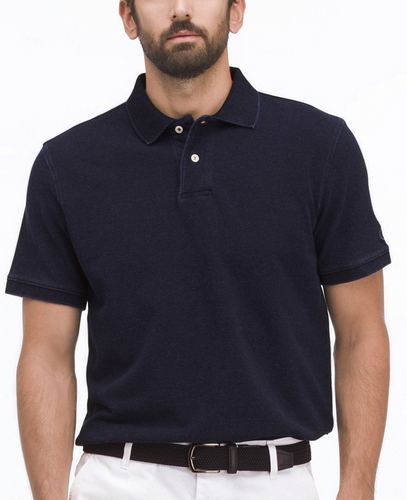 THE EROS INDIGO POLO