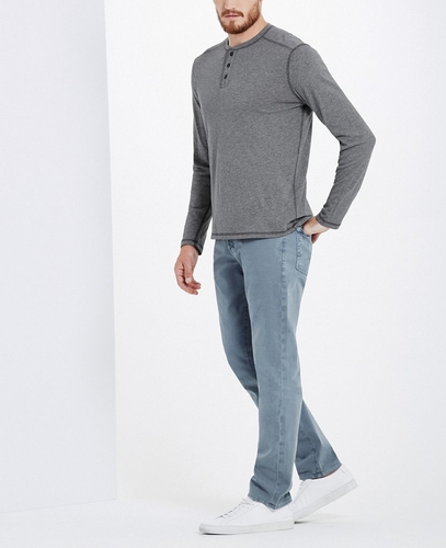 The Cashmere Blend Remi Long Sleeve Henley
