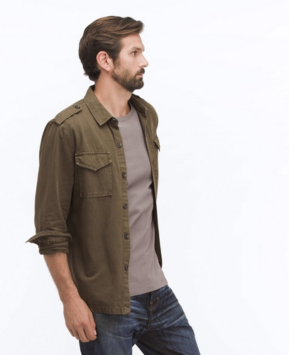 The Mariner Shirt Jacket