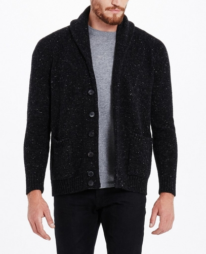 THE TEXTURAL SHAWL CARDIGAN