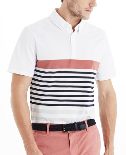 The Downey Stripe Polo
