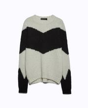 The Leila Chevron Sweater