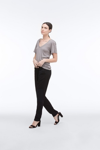 The Seamed Weekend Pant