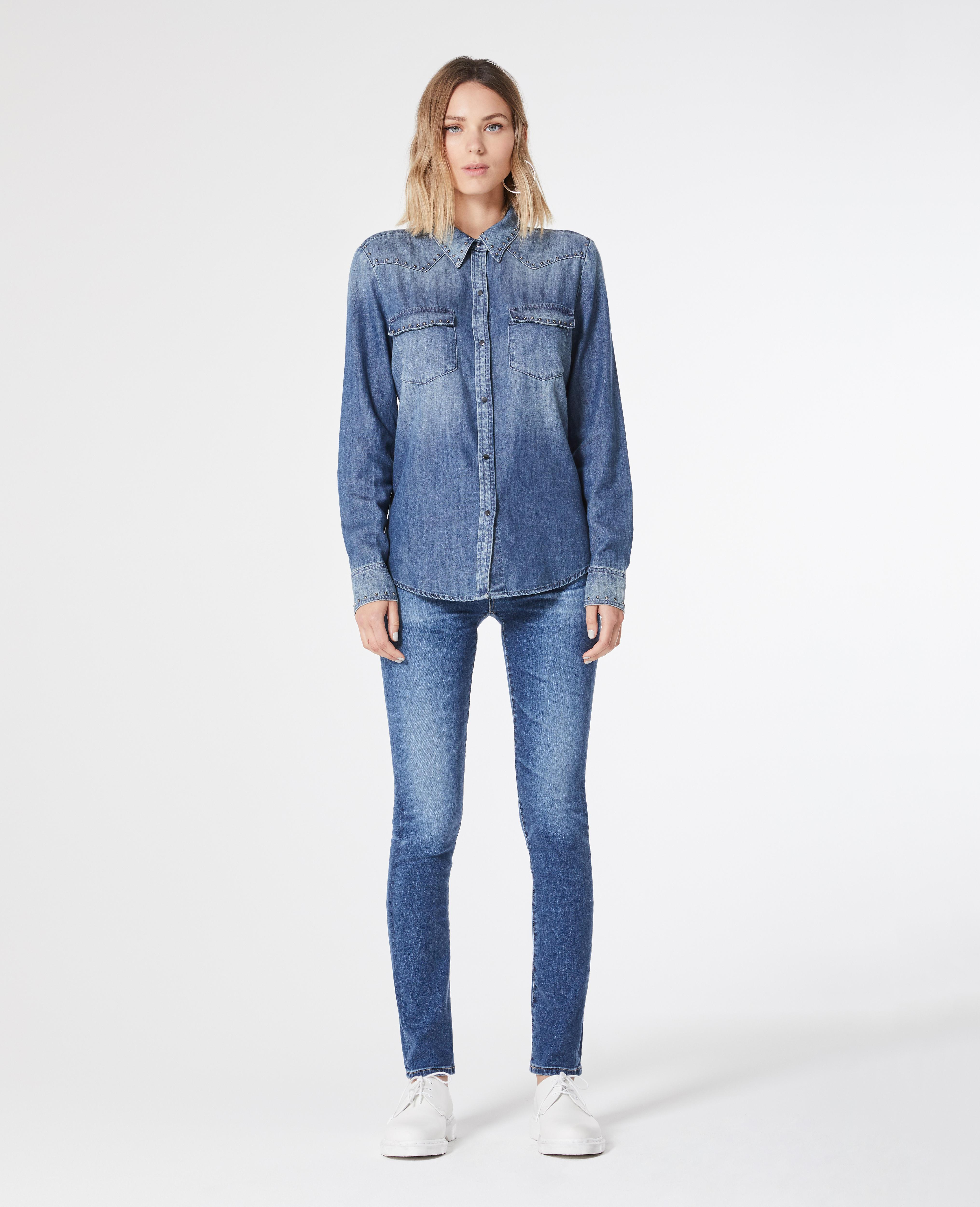 AG Jeans Woman High-rise Skinny Jeans Mid Denim Size 23 Buy Cheap With Credit Card Fake Cheap Price Cheap 2018 New Fashionable Cheap Online With Paypal Online Ih953q