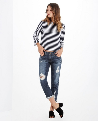 The Ex-Boyfriend Slim Boyfriend Jeans at AG Jeans Official Store