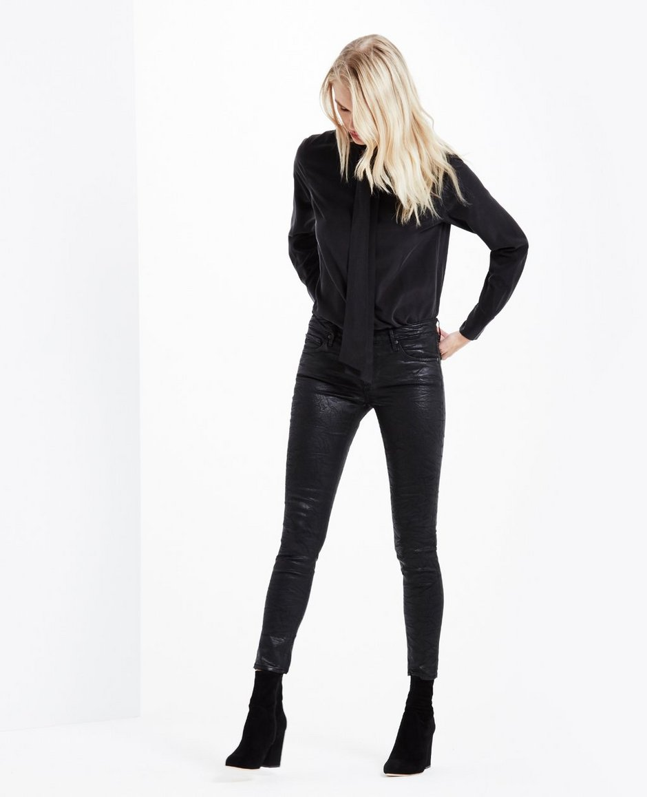 The Leatherette Legging Ankle