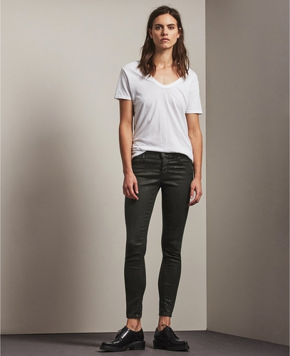 The Vintage Leatherette Legging Ankle