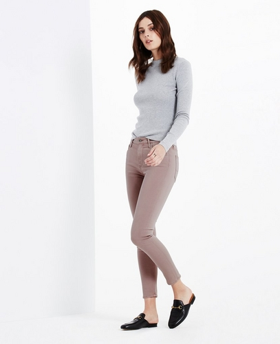 The Sateen Farrah Skinny Crop