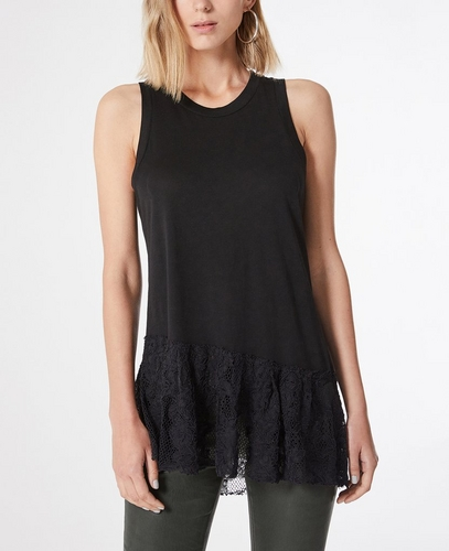 The Demi Lace Tank