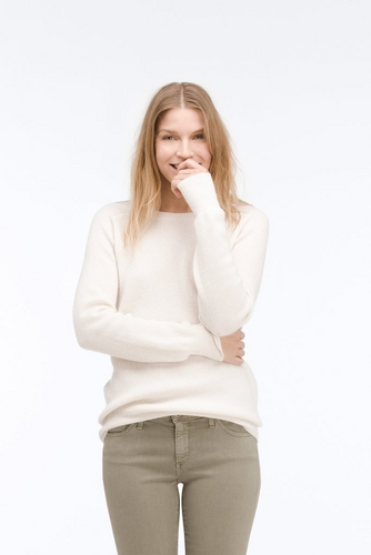 The Rylea Ribbed Crew Neck