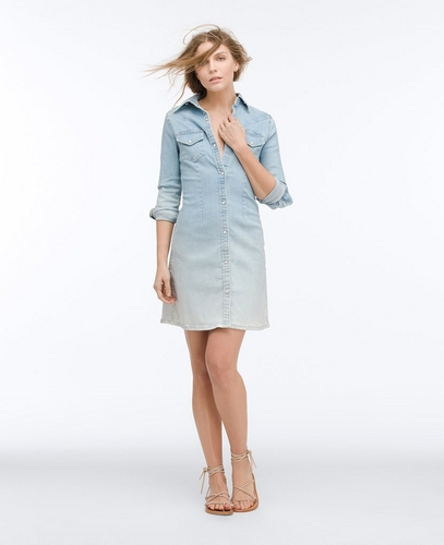 The Jacqueline Western Button Up Dress