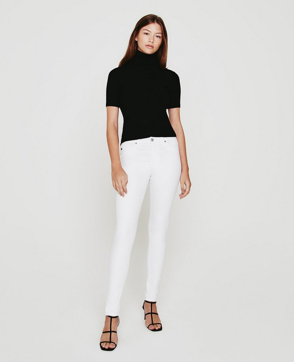 The Farrah Skinny In White Skinny Jeans | AG Jeans Official Store