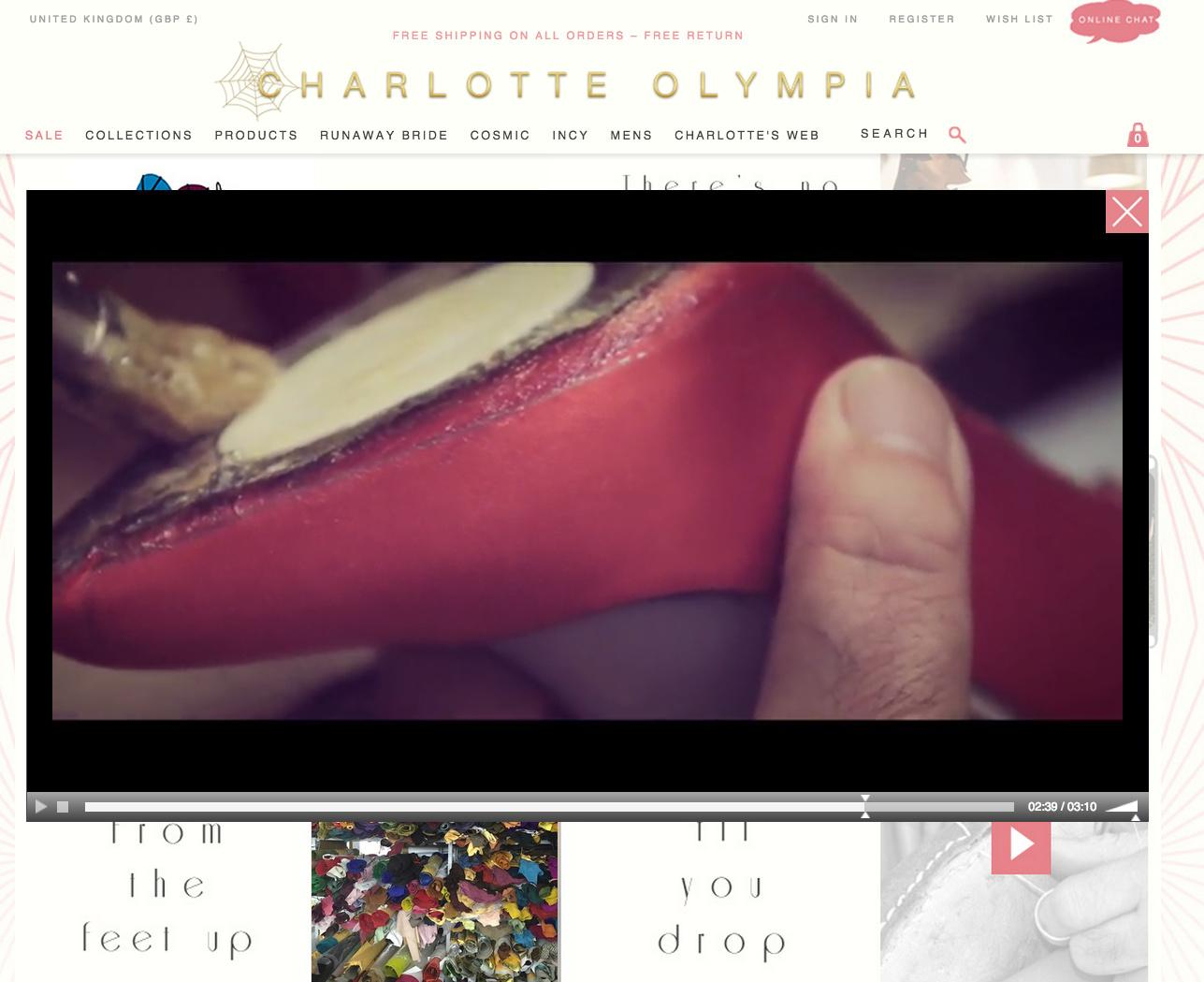 Charlotte Olympia Made in Italy