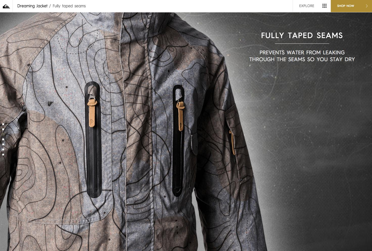 Quiksilver dreaming jacket