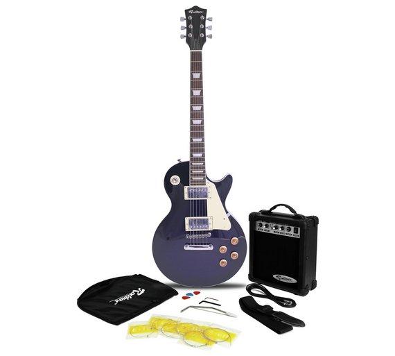 buy rockburn electric guitar amp pack blue at your online sho. Black Bedroom Furniture Sets. Home Design Ideas