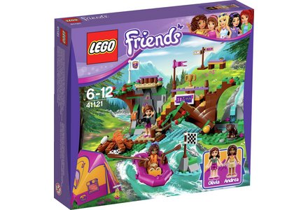 LEGO Friends Adventure Camp Rafting Playset - 41121.