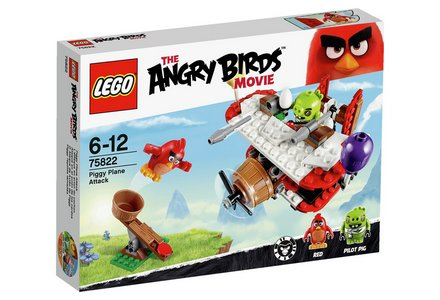 LEGO Angry Birds Piggy Plane Attack - 75822.