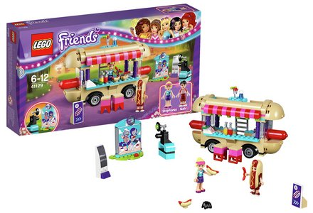 LEGO Friends Amusement Park Hot Dog Van - 41129.