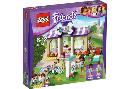 LEGO Friends Heartlake Puppy Daycare Playset - 41124.