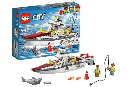 LEGO City Fishing Boat - 60147.