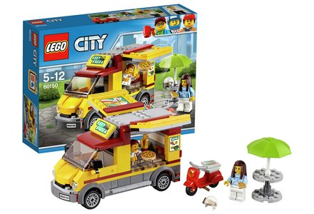 LEGO City Pizza Van - 60150.