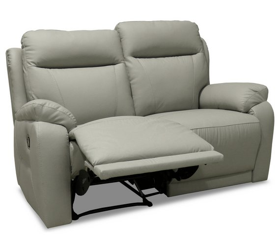 Buy Collection Ricardo 2 Seater Leather Recliner Sofa