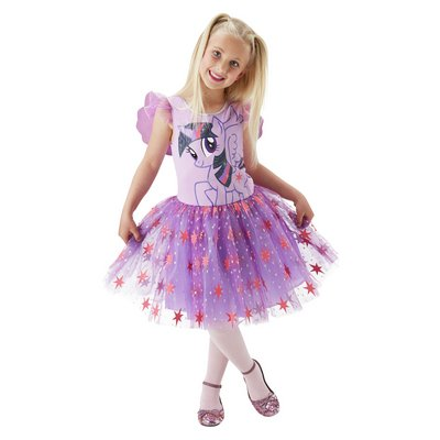 MLP TWILIGHT SPARKLE DRESS UP 3-4 YRS.