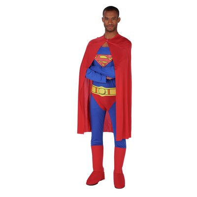 SUPERMAN FANCY DRESS S/M.