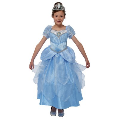 PRINCESS CINDERELLA DRESS UP 3-4 YRS.