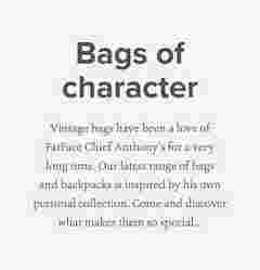 Bags of character