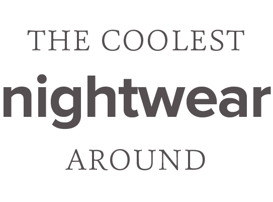 The coolest nightwear around