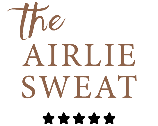 The classic Airlie Sweat is shown being worn on a content-looking male model.