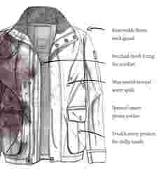 image of FatFace men's broadsands poachers jacket