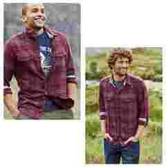 image of FatFace men's ashington check shirt