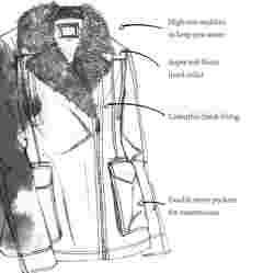 image of FatFace women's hampshire biker jacket