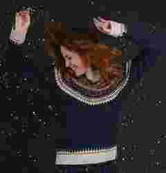 image of FatFace women's islay fairisle jumper