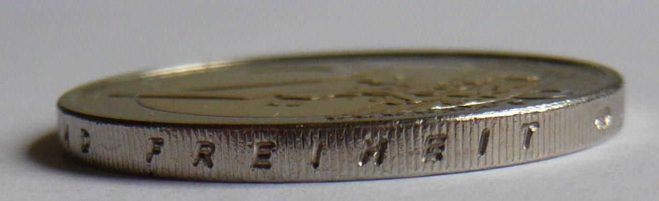 Devise Wahlspruch Auf Einer Münze Mdm Deutsche Münze