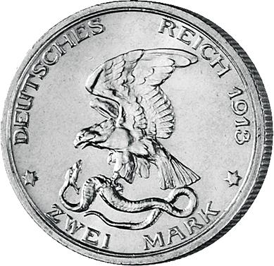 Adler Packt Schlange Mdm Deutsche Münze