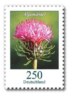 Briefmarke Alpendistel
