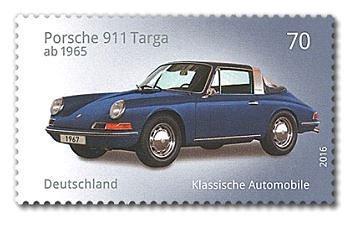 Briefmarke Porsche