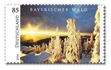Briefmarke Bayerischer Wald