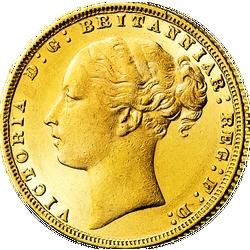 """1 Sovereign Victoria, """"Junges Porträt"""""""